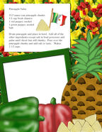 Cinco de Mayo Pineapple Salsa Free Kids Recipe Downloads and More!