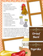 FREE Children's Cookbook and Photo Memory Journal Page Template Sets.